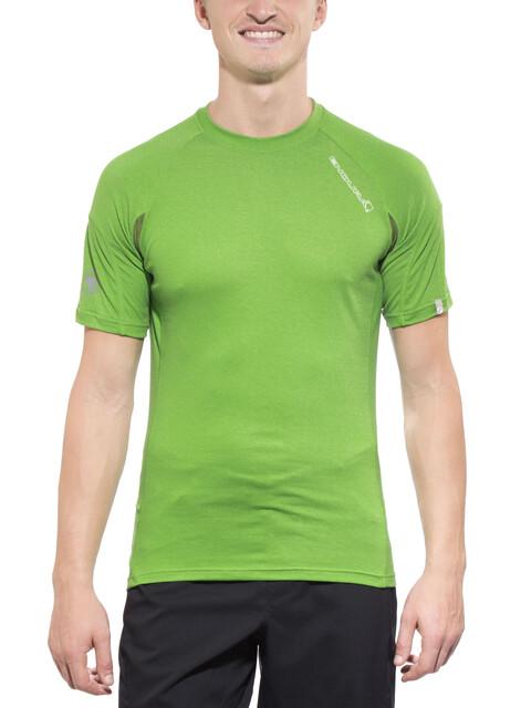 Endura Singletrack Lite Wicking Koszulka kolarska Mężczyźni zielony
